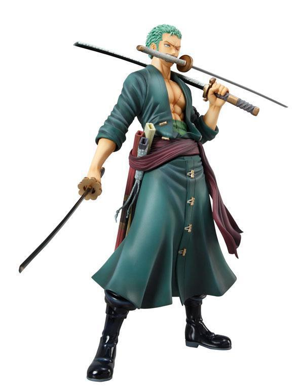Megahouse One Piece New World P.O.P RORONOA ZORO Birthday Gift - EachDayMall store