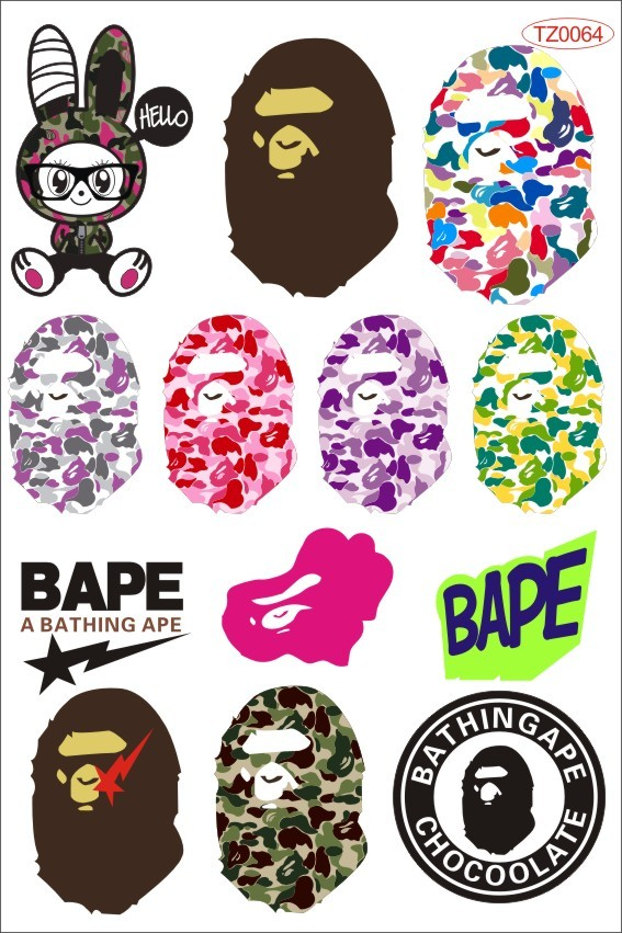 Wholesale Skateboard Stickers Guitar Skateboard Stickers