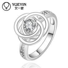 2015 SALE joias 925 Silver ruby Austrian Crystal CZ Simulated Diamonds Fashion Jewelry Acessories new design