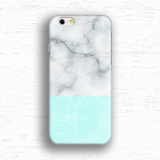 Mint geometric Jadeite marble case for Samsung Galaxy s2 s3 s4 s5 mini s6 s7 Note 2 3 4 5 iPhone 4 5s 5c 6 plus iPod touch 4 5 6(China (Mainland))