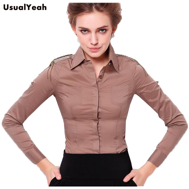 new2016 women long sleeve body shirt slim fit turn down. Black Bedroom Furniture Sets. Home Design Ideas