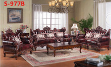 Solid wood furniture wood frame sofa S977-B(China (Mainland))