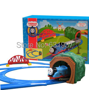 Free Shipping For Children Educational Toy Thomas Train Electric Rail Cars Toy Gift for Baby Boys & Girls classic car toys lada(China (Mainland))