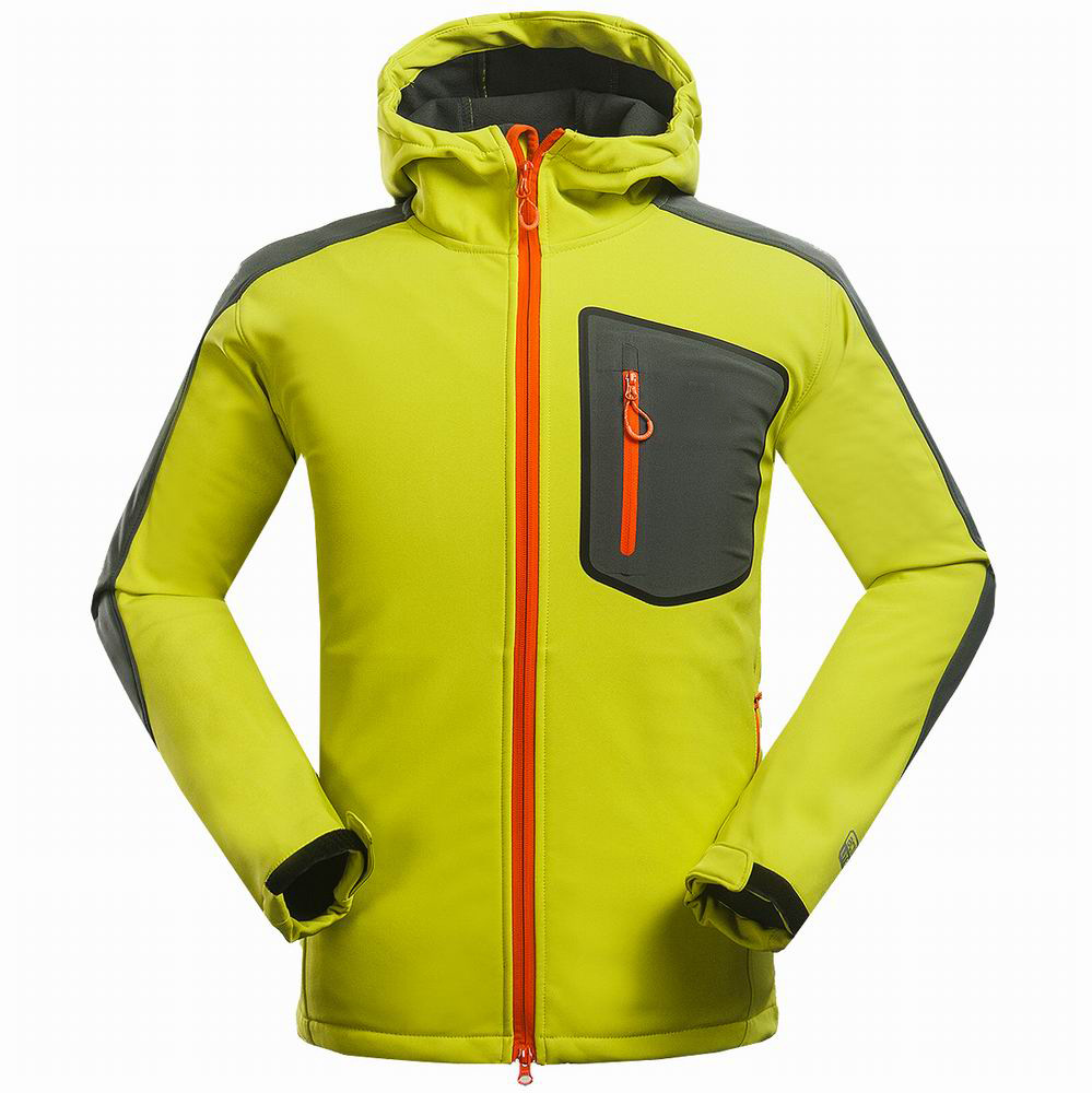 Outdoor Brand Mammoth  Softshell Jacket Men Hiking Jacket Waterproof Windproof Thermal Jacket For Hiking Camping Ski quality
