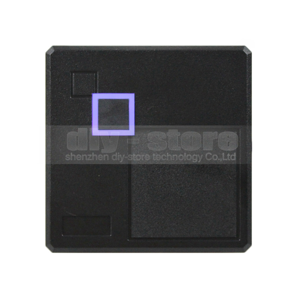 Weatherproof Wiegand 26 125KHz EM4100 RFID ID Card Reader LED for Access Control System 102A(China (Mainland))