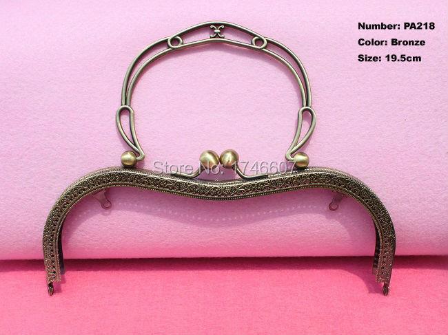 Pa218 3шт портмоне металл рама бронза антикварный бронза портмоне мешок металл арка рама поцелуй застежка замок рукоятка