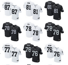 A++++++,Oakland Raiders,Jim Otto,Kenny Stabler,Jim Plunkett,Jack Tatum,Marcus Allen,Bo Jackson,Ronnie Lott,Howie Long,T.Brown(China (Mainland))