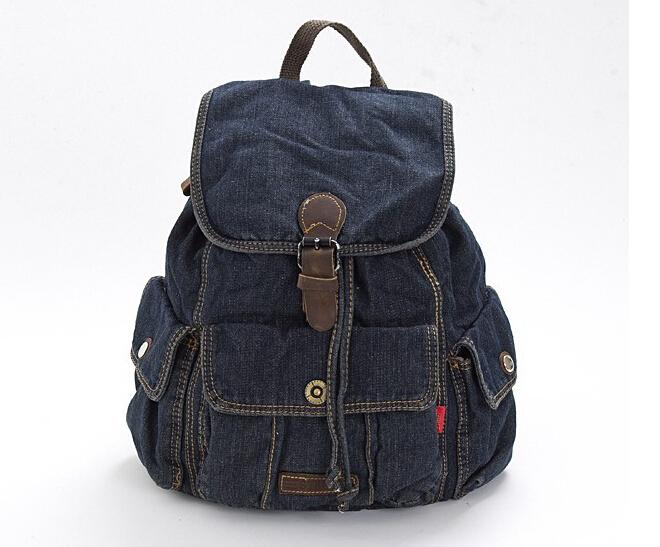 BP102702-Women-Preppy-Rucksack-Denim-Backpack-girls-Casual-Travel-canvas-jeans-School-Back-Pack ...