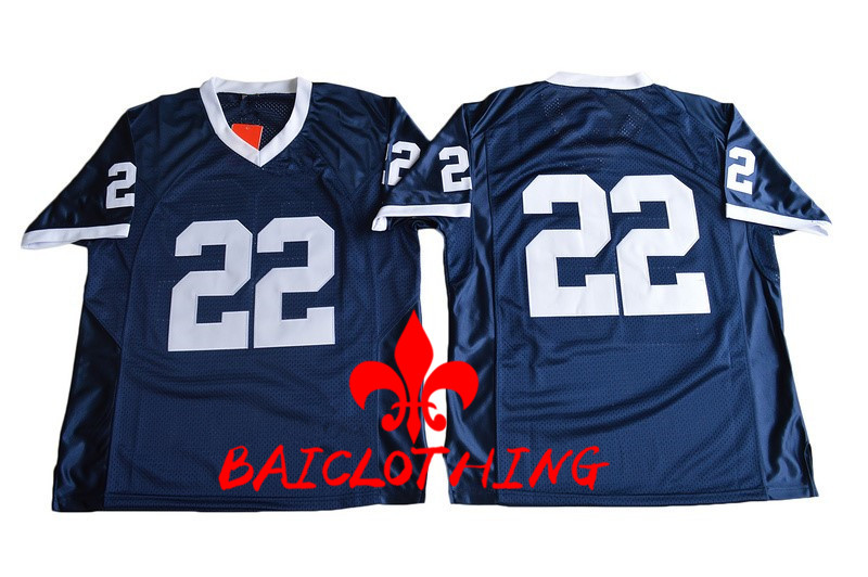 2017 Penn State Nittany Lions 22 College Football Jersey - Navy Blue Size M,L,XL,2XL,3XL(China (Mainland))