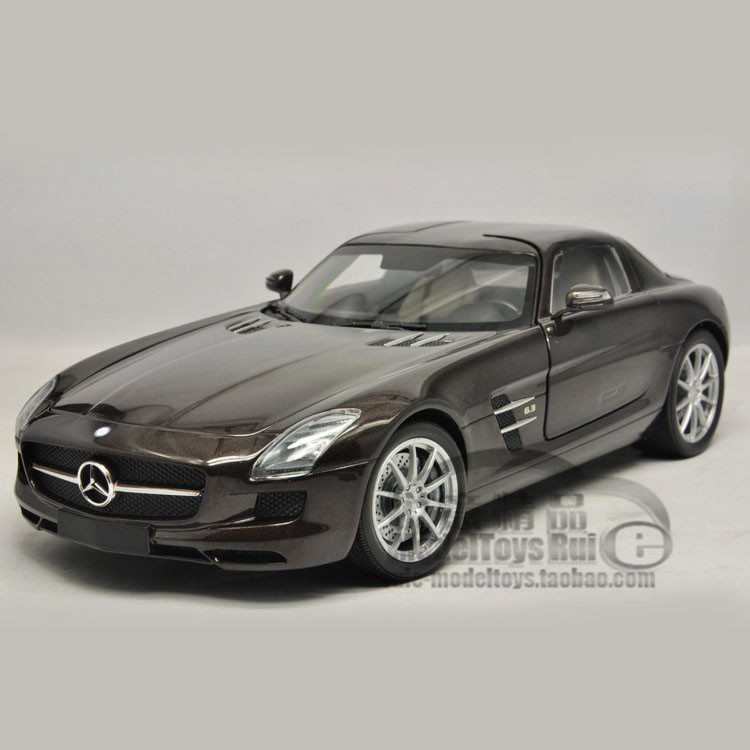 1:18 Mini Minichamps Mercedes Benz Benz SLS AMG 2010 special automobile model(China (Mainland))