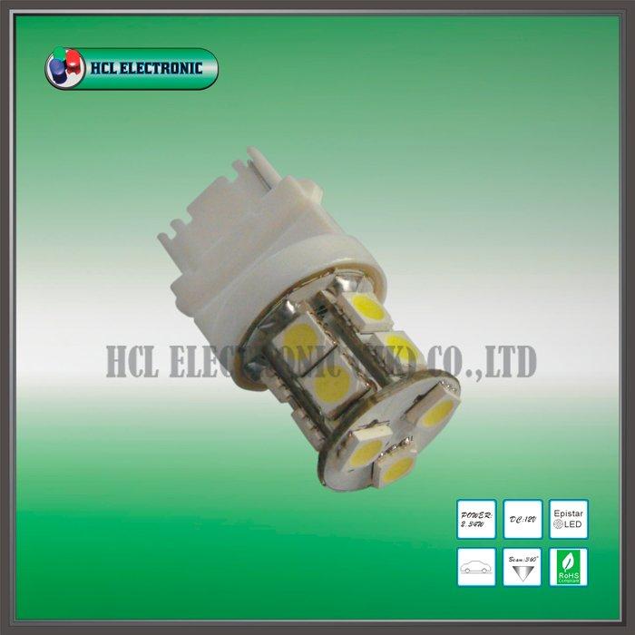 Free shipping 5pcs lot 3156 LED signal lamp T20 Car LED bulb 13pcs Ultra Bright 5050SMD