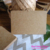 500pcs 7.5x5cmParty Favor Deco DIY Paper Cards Kraft Paper Blank Price Hang Tag Retro Gift Tag