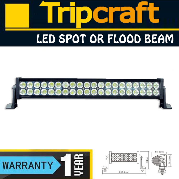 "Фотография 2PCS  22""inch Working Light 120 Watt LED Off Road Light Combo Beam LED light bar 120W"