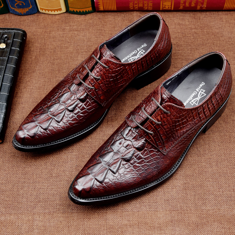 how to clean genuine leather shoes