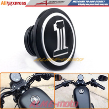 2015New!Hot sale CNC Gas cap vented fuel cap For Harley Davidson Sportster XL 883 1200 Dyna Touring Softail Durable