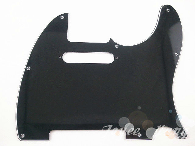 New Black 3 PLY Electric Guitar Pickguard For Fender Tele Style Electric Guitar Free Shipping Wholesales(China (Mainland))