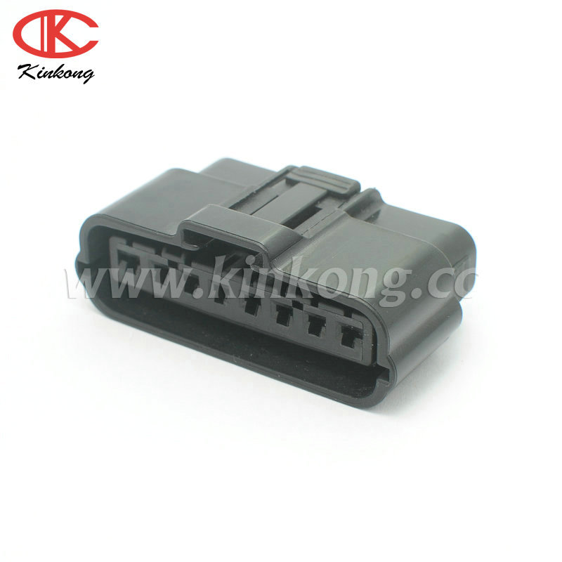Free shipping 5 sets 8 pin female sealed car auto fuel injector pigtail connector 6195-0038(China (Mainland))