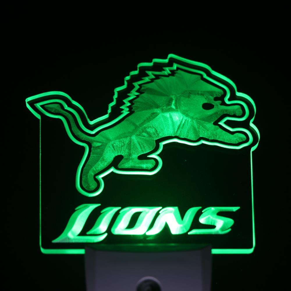 Aliexpress.com : Buy ws0172 Detroit Lions Day/ Night Sensor Led ...