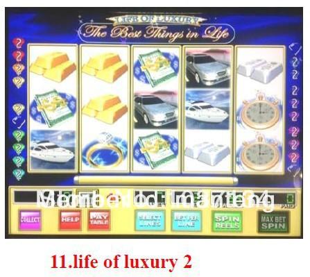 Life of Luxury Progressive Slots Machine