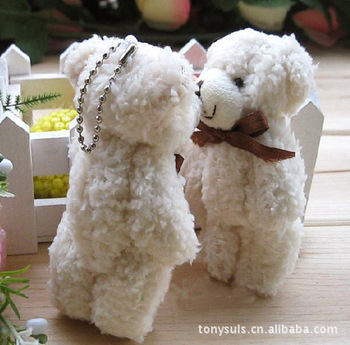 Wholesale 13cm Samll Animal Plush Toy Teddy Plush Toy Keychain&Phone Pendants&Accessories&Promotion toy gifts