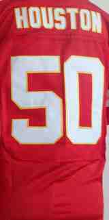 Good quality sports men football jersey 50 Justin Houston football jersey wholesale price accept mixed orders(China (Mainland))