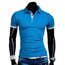 New 2016 summer fashion Men's Brand Polo Shirt For Men Designer Polos Men Cotton Short Sleeve shirt Plus Size Polos homme YA015