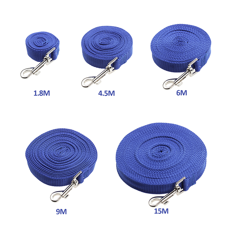 Fetoo Hot Selling Adjustable Practical 1.8M 4.5M 6M 9M 15M Pet Dog Traction Rope Leash Trainging Lead Chain Strip P50(China (Mainland))