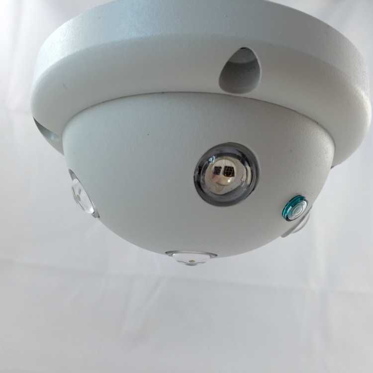 New Array IR LED 200 Sqm 850nm Indoor Dome Illuminator Light for Wide-Angle