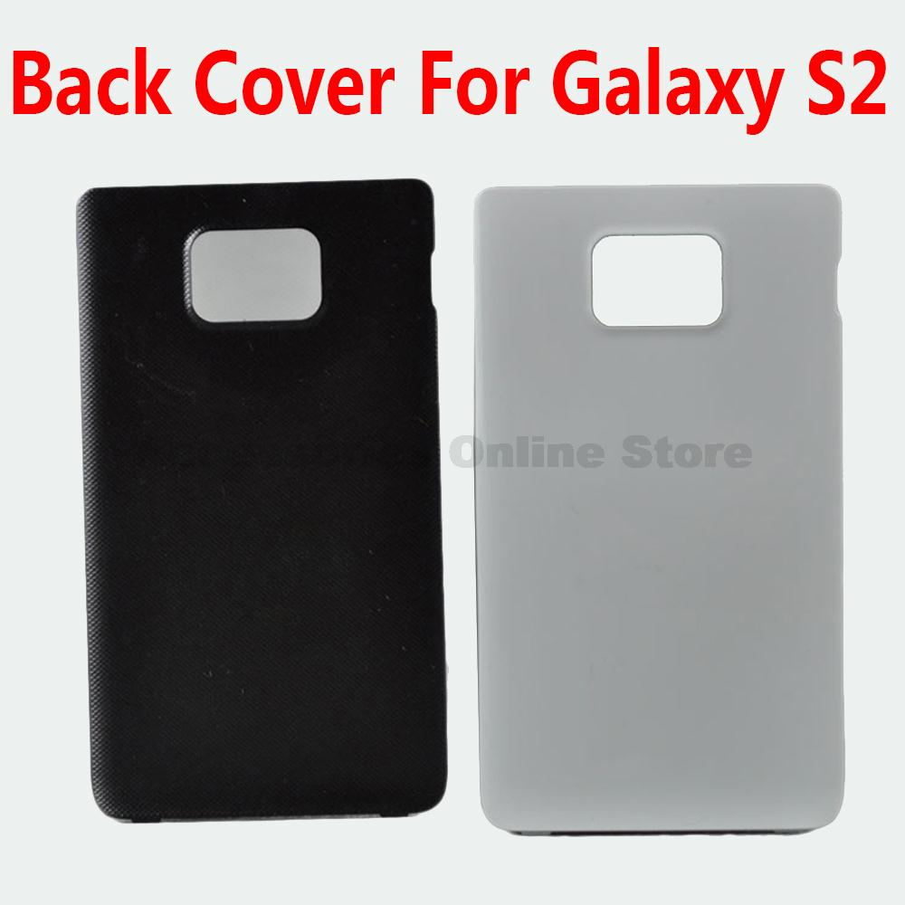 Original New OEM S2 Back Battery Cover housing Door case For Samsung Galaxy S2 i9100 Replacement #(China (Mainland))