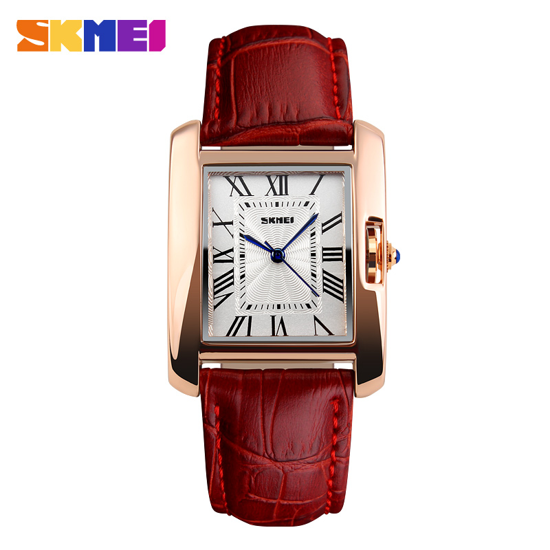 Watches Women Elegant Retro Watch Women Luxury Fashion Quartz Clock Female Leather Women's Wrist Watches Relogio Feminino