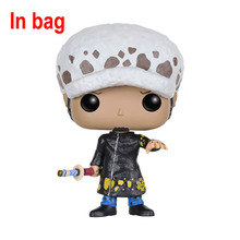 Funko POP One Piece Mini Anime Luffy Ace Law Chopper Vinyl PVC Collection Action Figure PVC Model Toys For Kids(China (Mainland))