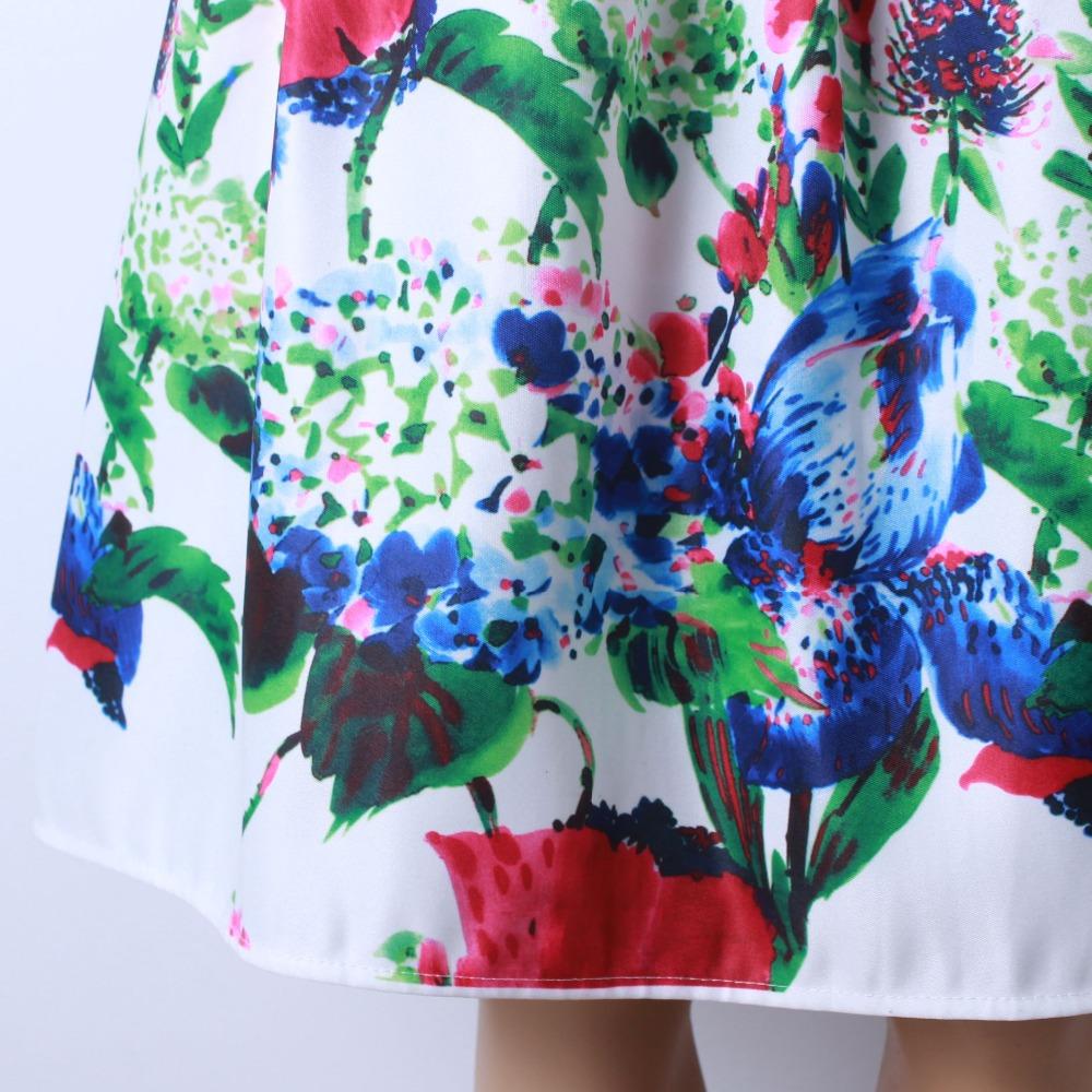 HTB1fnauQFXXXXX8XFXXq6xXFXXX8 - GOKIC 2017 Summer Women Vintage Retro Satin Floral Pleated Skirts Audrey Hepburn Style High Waist A-Line tutu Midi Skirt