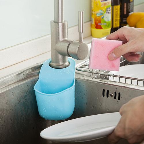 Free Shipping 1Pcs Creative Kitchen Tools Bathroom Gadgets Candy Colors Soft PVC Plastic Soap Dish Soap
