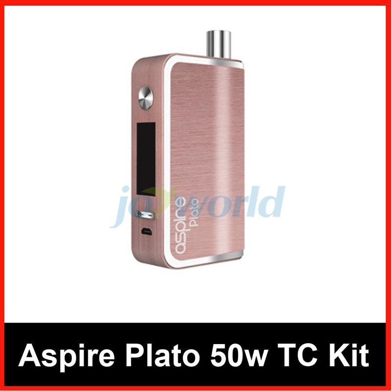 100% Aspire Plato TC Package 50W four.6ml Sub ohm atomizer Nautilus Coils with 18650 Battery vs Kanger Dripbox Nebox Starter Package YY (4)