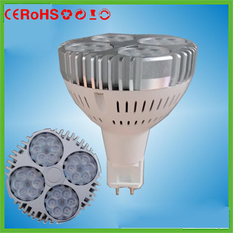 new Aluminum G12 led lamp par30 30w 24leds smd3030 leds G12 spotlight par30 lamp replace 70w Metal halide lamp AC86-265V(China (Mainland))