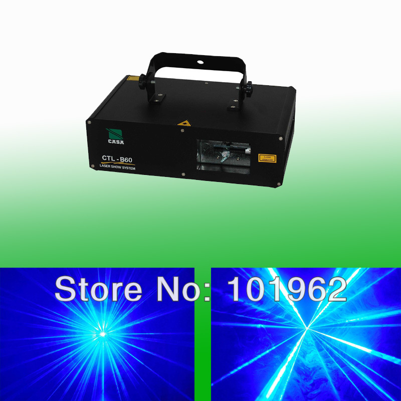 New Arrival 600mW Blue Color Laser Scanner DJ Disco Party Stage Lighting Show System CTL-B60<br><br>Aliexpress