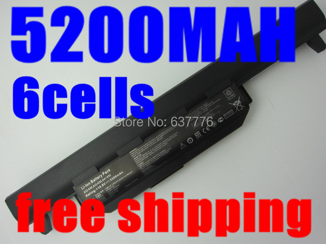 5200MAH laptop battery asus A32 K55 A33-K55 A41-K55 A45 A55 A75 K45 K75 X45 X55 X75 R400 R500 R700 U57 Series - SUNWAY ELECTRONIC Store store