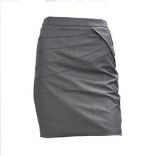 Buy 2017 NEW Career Women's OL Slim Sexy Pencil Stretch Straight Short Mini Skirt Dark Gray for $8.19 in AliExpress store