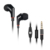 Wallytech WHF-111 Flat TPE Cable in-ear Earphones with Microphone and ON/OFF button with Handsfree Headphone for iPhone HTC