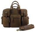 Crazy Horse Leather men Luggage travel bag Genuine Leather Men Duffle bag Weekend Luggage bag Large