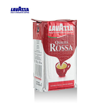 cafeteira italiana cafetera Italy imports LAVAZZA le visa Qualita Rossa Rosa coffee powder free shipping new