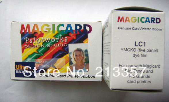 Фотография Magicard Tango/Avalon/Rio printer ribbon,M9005-751 LC1 Color Ribbon - YMCKO - 350 prints