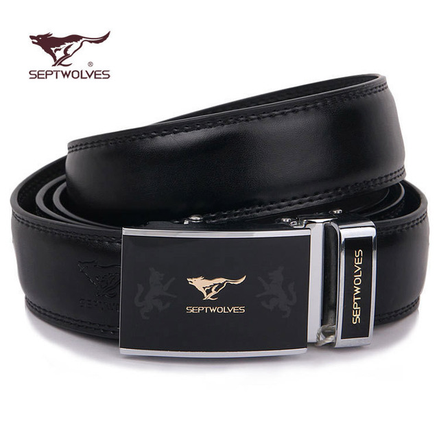 Brand men genuine leather belt automatic buckle belts for men good quality 3 styles free shipping!