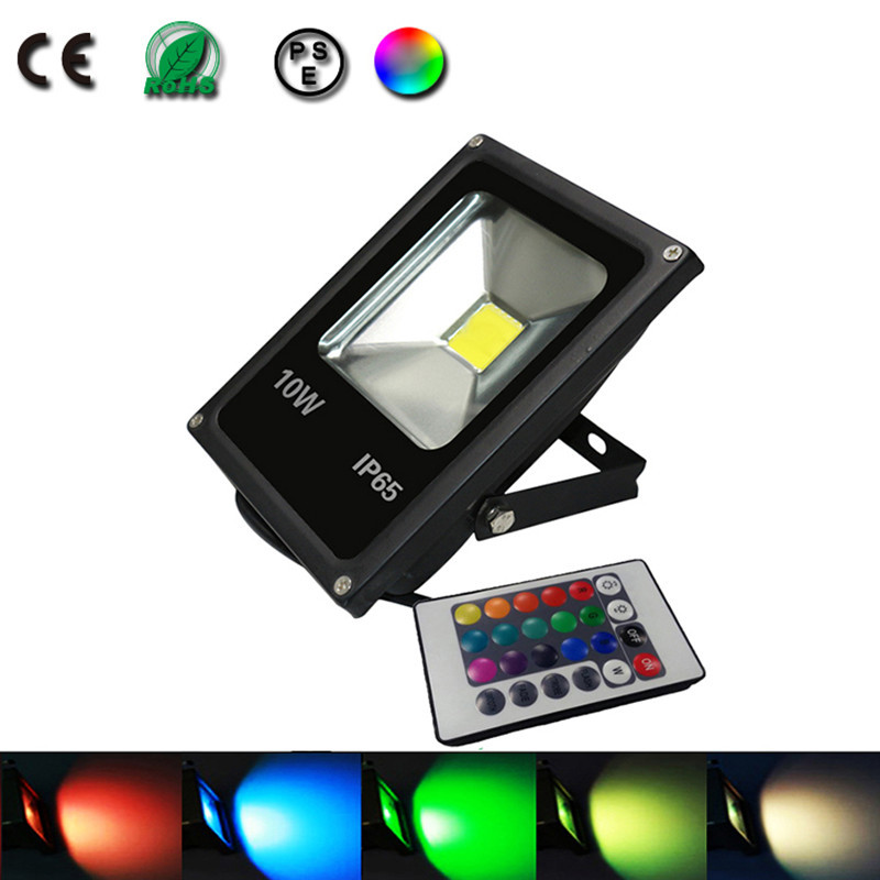 10w spot led projecteur led eclairage exterieur luminaire for Lampe exterieur led design