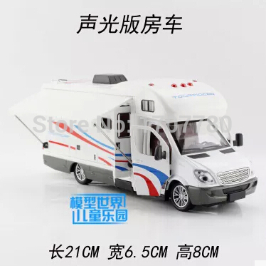 NEW 2015 Automobiles Motor Homes Tourist Bus Brinquedos Kids Cars Toys For Children Children'S Toys Bus Acousto-Optic Warriorsho(China (Mainland))