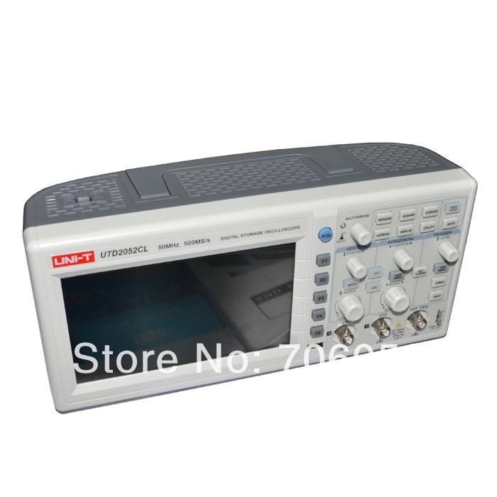 Digital 50MHz Oscilloscope Scopemeter 2Channel 1GS/s 7 Color LCD USB UTD2052CEL<br><br>Aliexpress
