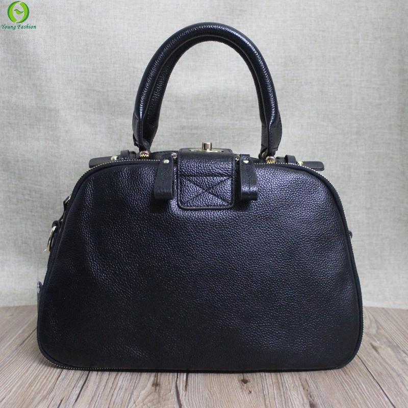 new Real genuine leather bags women handbag fashion patchwork designer brand high quality ladies office messenger shoulder bags<br><br>Aliexpress