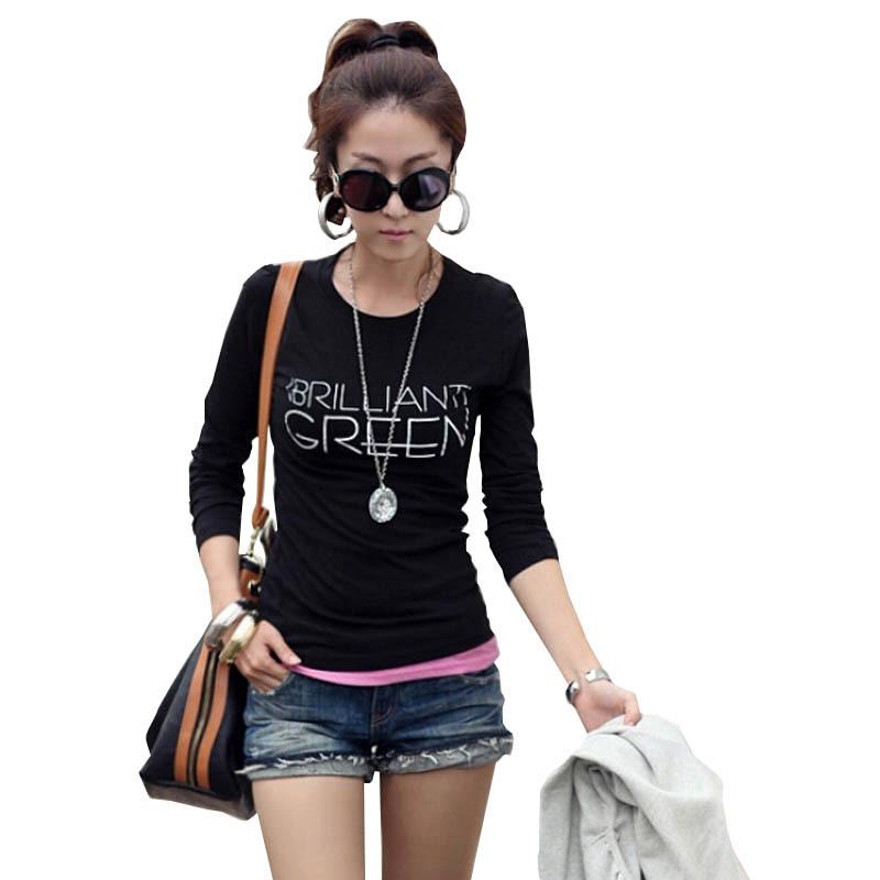 Женская футболка 2015 Blusas