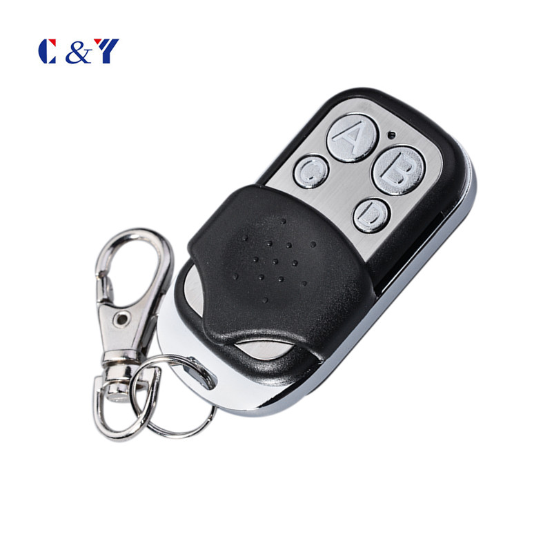 Home Automatic 433.92Mhz rf remote control duplicator 4keys with ABCD buttons YET026(China (Mainland))