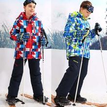 Chaquetas impermeables a prueba de viento de esquí para niños – Tamaño 5-16T